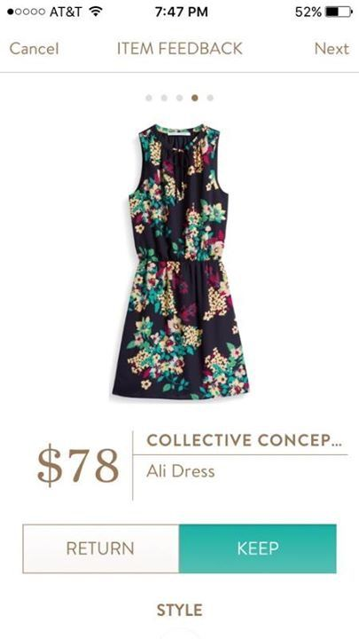 In LOVE with the floral on this! Does it come in a shirt? If not, I'd take the dress. LOVE!