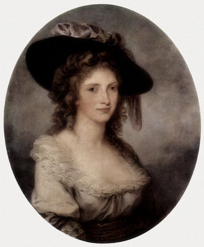 Angelica Kauffman · Autoritratto · 1780-85 · Hermitage · Sankt-Peterburg