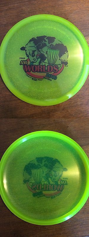 Disc Golf 20851: Discraft Sparkle Apx With Am Worlds 2010 Dga Sp Line Reef Stamp Golf Disc Rare -> BUY IT NOW ONLY: $34.99 on eBay!