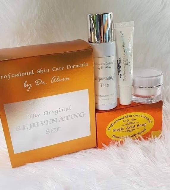 Dr Alvin Rejuvenating Set Professional Skin Care Formula By Dr Alv Rejuvenatingsets Acneprones Professional Skin Care Products Moisturizer Cream Anti Acne