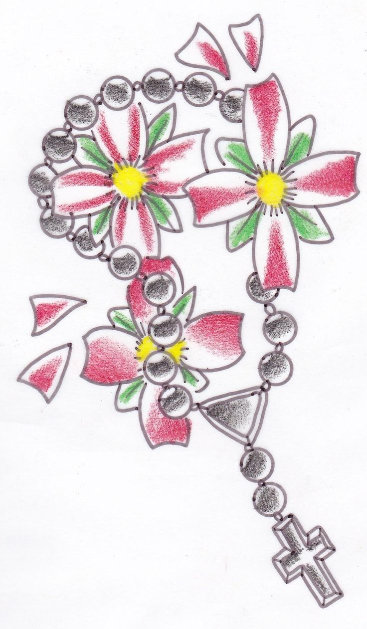 Image Search Flower Cross Tattoo For Leg Ranking Pictures