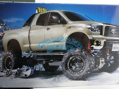 Price - $379.05. Tamiya 58415 4WD R/C TOYOTA TUNDRA High-Lift Pick-Up 3 Speed Off Road Truck Cap ( MPN - Does not apply, Brand - Tamiya, Type - Cars (On-Road), Fuel Source - Electric, State of Assembly - Unassembled Kit, Scale - 1, Vehicle Type - RC Car, Car Type - Off-Road, UPC - Does not apply    )