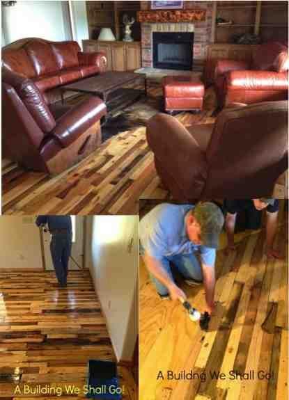 DIY Pallet Floors   WOW