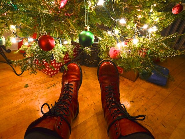 Oh Christmas tree! And Dr.Martens...