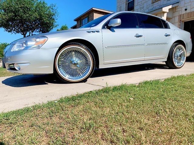 2011 Buick Lucerne Looking Super Sharp Sporting Vogues Spokes Buick Lucerne Vogues Buick Lucerne Buick Luxury Cars