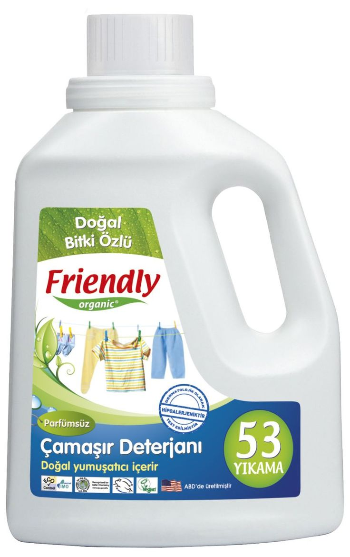 Friendly Organic Hassas Ciltler İçin Çamaşır Deterjanı Kokusuz 2 ADET 1.57 Lt #bebek #alışveriş #indirim #trendylodi  #anne #bebekbakım #bebekbakımürünleri #bakım