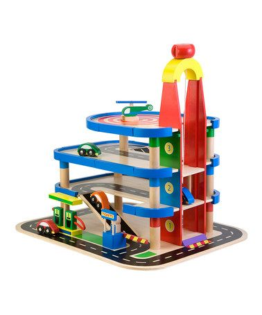 Take a look at this My Garage Play Set by ALEX on #zulily today!