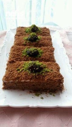 Bisküvili Kumlu Pasta