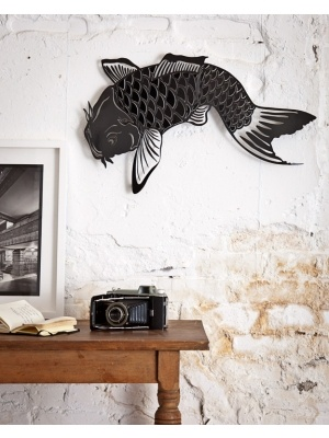 17 best images about fish in my floor on pinterest for Koi fish bathroom decorations