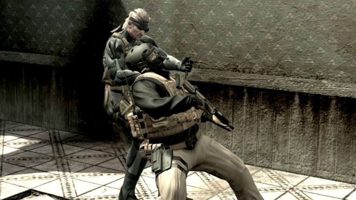 TIL why Snake uses CQC in Metal Gear Solid 4 #MetalGearSolid #mgs #MGSV #MetalGear #Konami #cosplay #PS4 #game #MGSVTPP