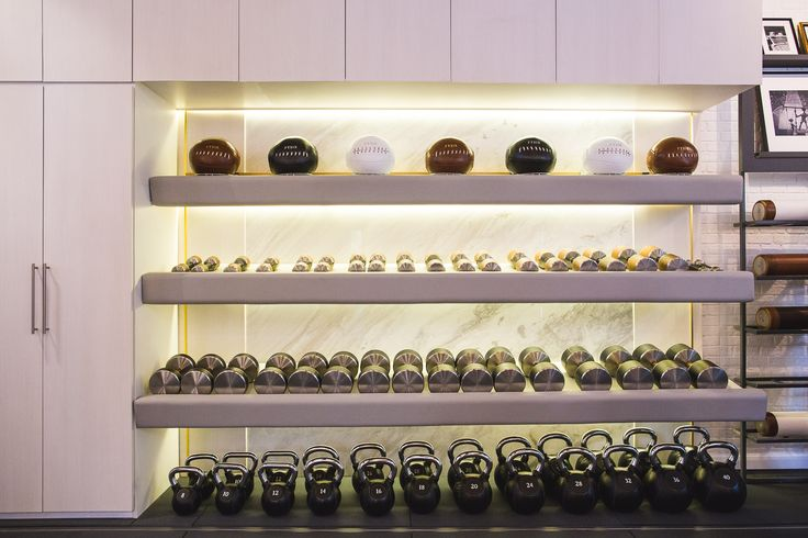 Design gym equipment from FYSIK at HAUS No3 - a private luxury personal training studio in Bangkok, Thailand.