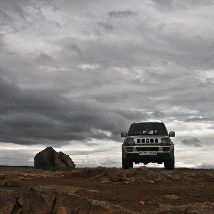 Suzuki Jimny in Iceland EXPEDITION 2014