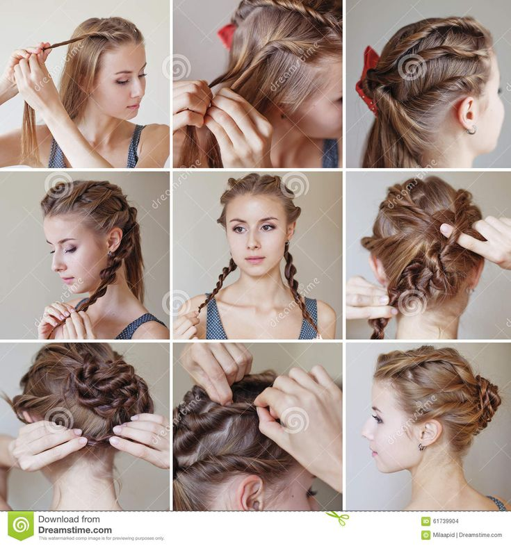 Best Long Hair Braiding Images On Pinterest Long Hair Braids - Juda hairstyle for short hair