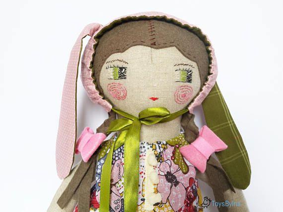 Ragdoll  Heirloom doll  Toddler toy  Dress up doll  Handmade #ragdoll #toddlertoy, #toysbyina #dressupdolls #plushdoll, #handmadedoll