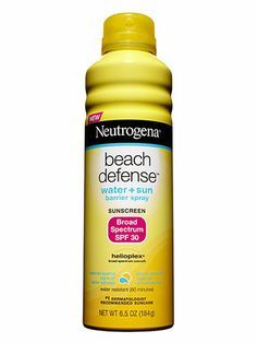 "Body: Best sunscreen for body - Neutrogena Beach Defense Sunscreen Spray, $9.50; target.com ""It goes on clear and dries quickly, plus the aerosol works when you hold it upside down,"" said dermatologist Doris Day of this oil-free, broad-spectrum sunscreen."
