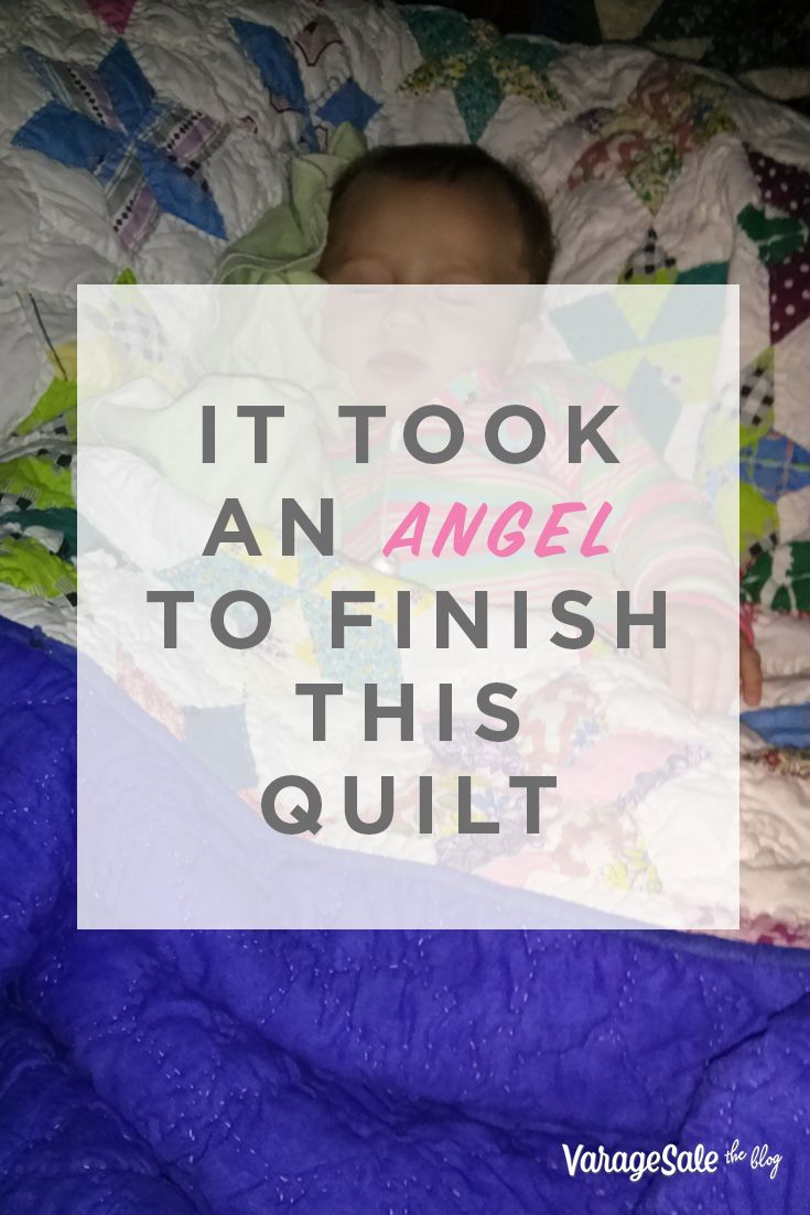 While rummaging through her late mother's attic, Theresa came across a colorful patchwork quilt with high-quality fabric—unfinished yet beautiful. After doing a bit of digging, she learned it was her great grandmother's work. While the sentimental side of her would have loved to keep the quilt, Teresa knew she'd never be able to finish it. That is when an angel stepped in. Read the full story.