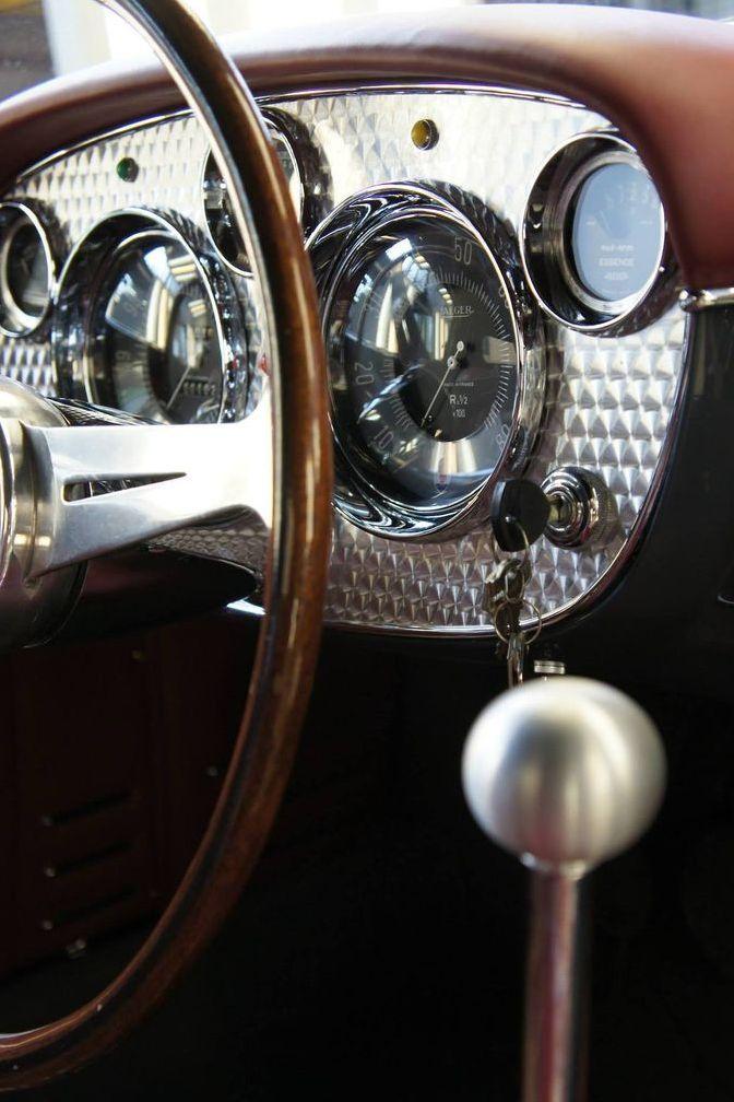so fine, vintage luxe... c.1956 Maserati A6G 2000 Frua Spider.....