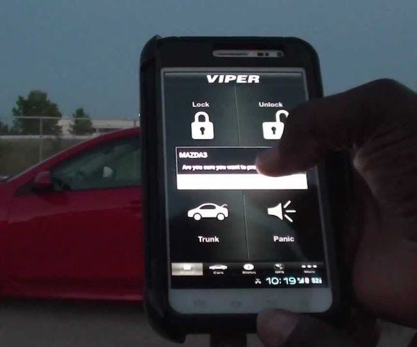 Remote operating your car was never this easy. Use the Viper SmartStart Remote Car Starter System and start, lock and unlock your car remotely with the simple push of a button on your smartphone.