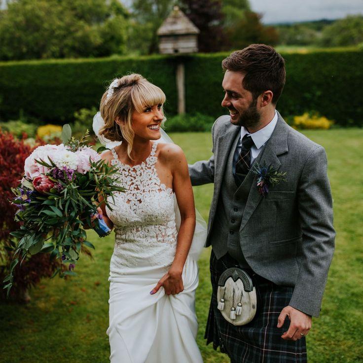 A Big Old Knees-Up: Eleganza Real Bride Claire Wears