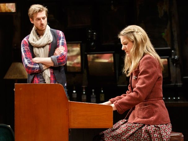 Meet Guy and Girl! ONCE stars Arthur Darvill and Joanna Christie shine in new production photos