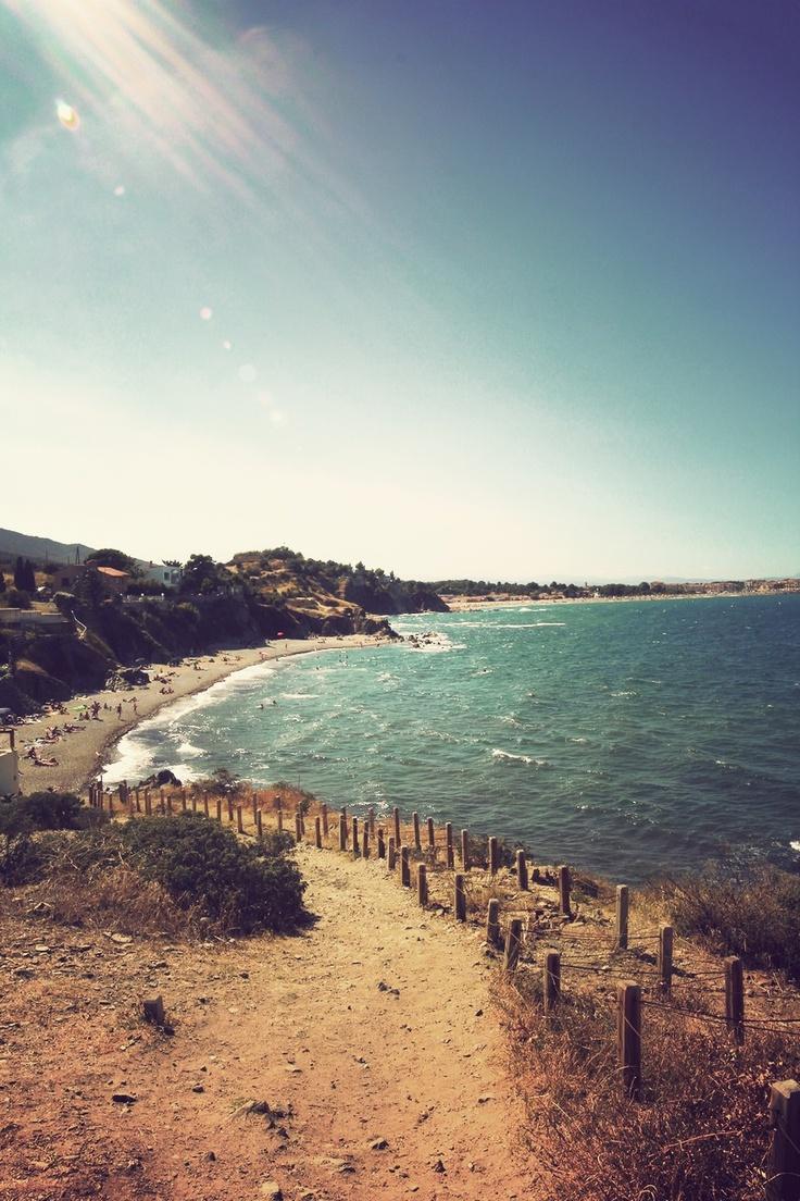 Le sentier du littoral du Racou à Argelès sur Mer