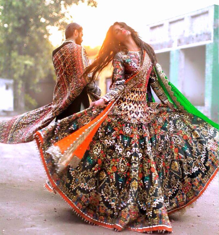 Ali Xeeshan's Winter 2015 Bridal Campaign shot by Abdullah Haris.