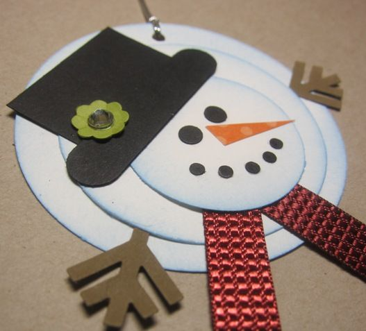 Melting Snowman Tags by Angie Leach - Cards and Paper Crafts at Splitcoaststampers