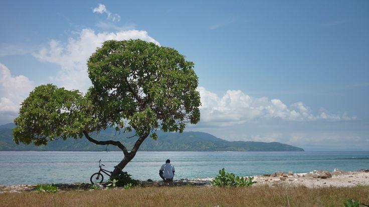 Peace and tranquility on Gili Trawangan.