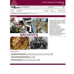 Catalogue audio-visuel de Ecole normale supérieure - Archives | Pearltrees