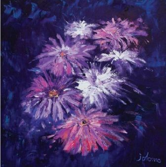 John Lowrie  Morrison (Jolomo) - Big Blooms from the www.redraggallery.co.uk online limited edition prints gallery.