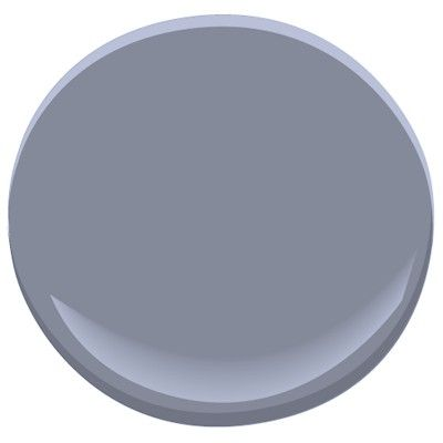 Benjamin Moore Irises 1440 - wall paint color for bedroom