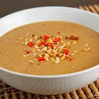 Thai Spicy Peanut Sauce | YUMMY!! | Pinterest