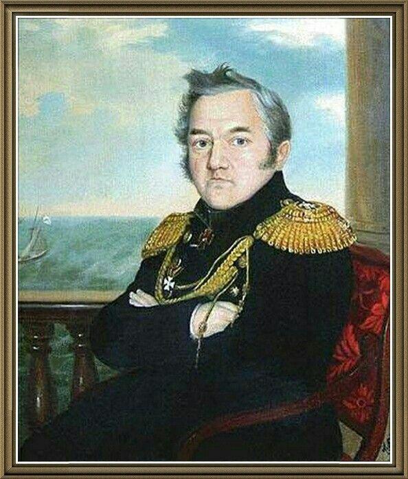 Михаил Петрович Лазарев.