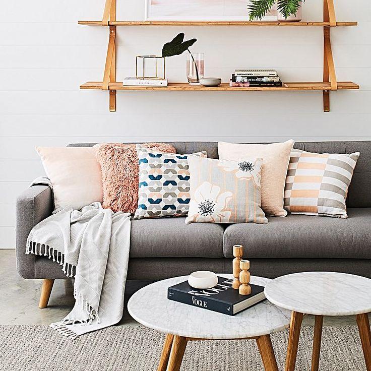 Haze Cushion, Pink by Rapee | Zanui
