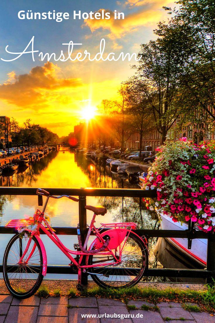 Hotels in Amsterdam sind verdammt teuer. Ich habe euch viele tolle Hotels zu fairen Preisen herausgesucht und außerdem gute Tipps zur besten Reisezeit.