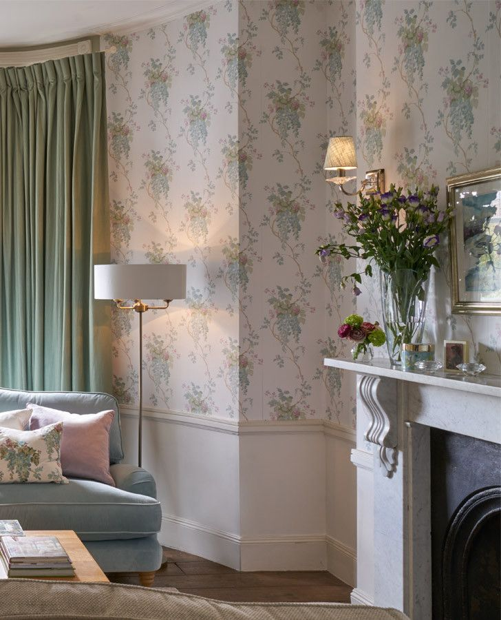 Laura Ashley Kitchen Wallpaper: 17 Best Images About Welcoming Walls On Pinterest