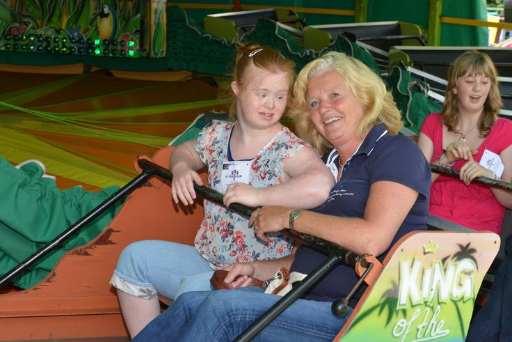 Elk jaar zorgt de kermismiddag voor verstandelijk gehandicapten voor heel veel blije gezichten.