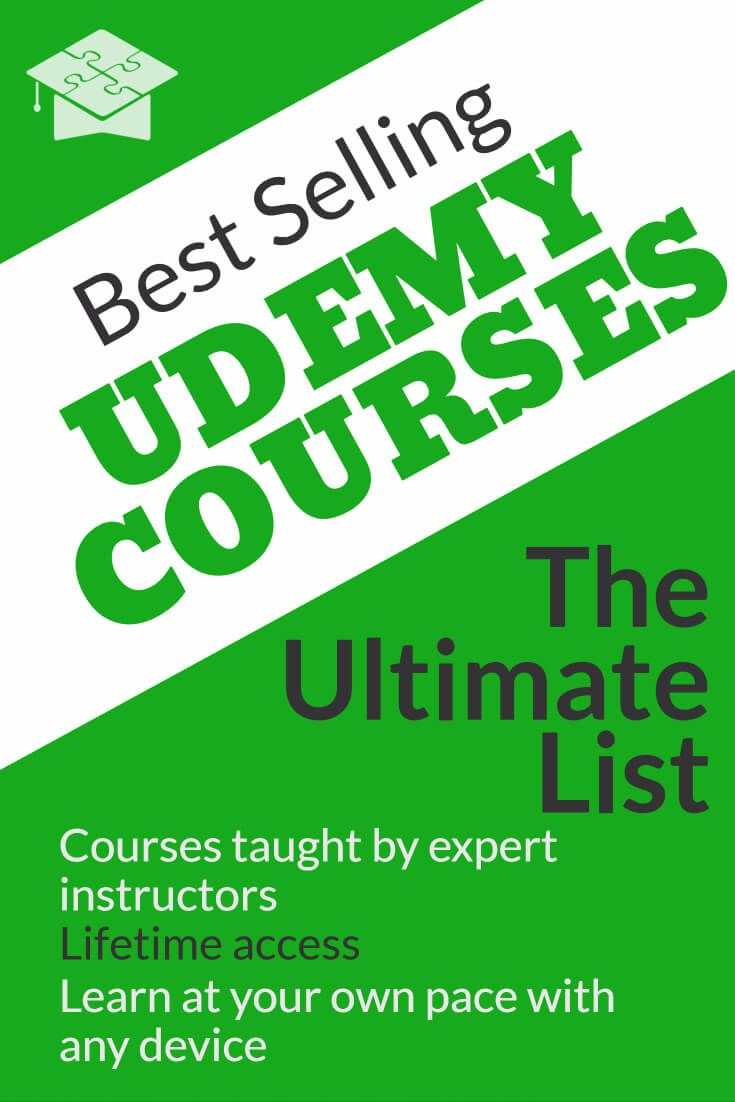 A list of the all-time best rated Udemy courses, organized by subject. Quickly sort courses and search for keywords. Thousands of the best courses organized!