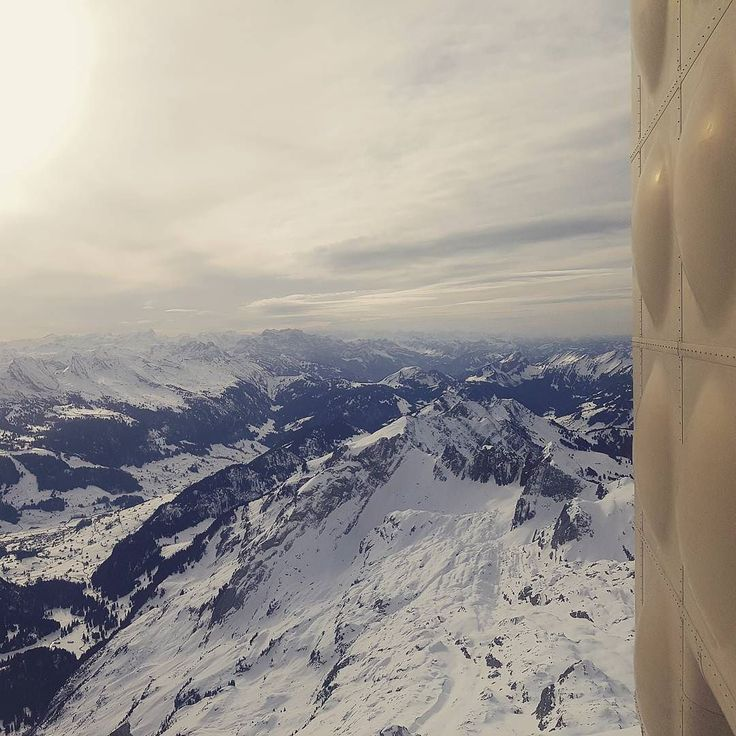Top of Säntis. My office today.