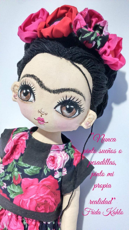 Les 3328 meilleures images du tableau mu ecos sur pinterest poup es en tissu doudous et - Deguisement frida kahlo ...