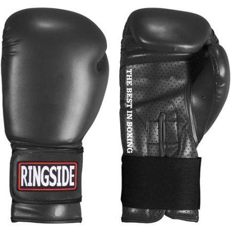 Ringside Extreme Fitness Boxing Gloves, Black