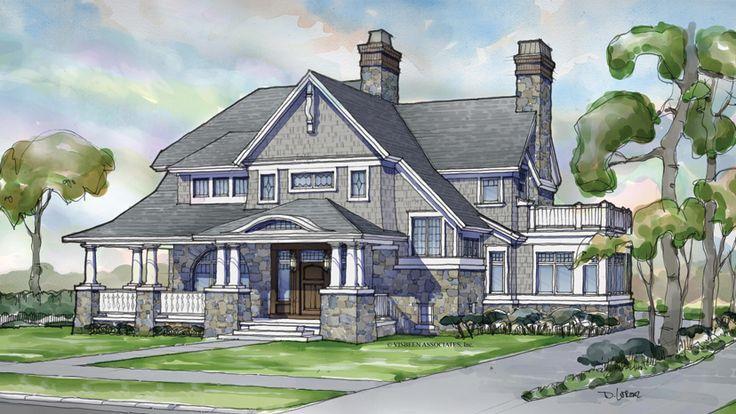 4 Bedroom Shingle Home Plan HOMEPW75501