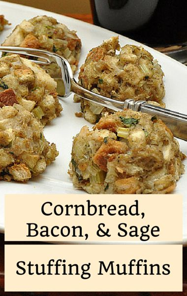 ... Sage Stuffing inside a muffin tin to give everyone their own crunchy