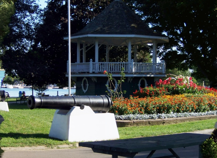 pavillion at Couchiching Park by Lake simcoe in Orillia Ontario-courtesy of Kathy La Hay