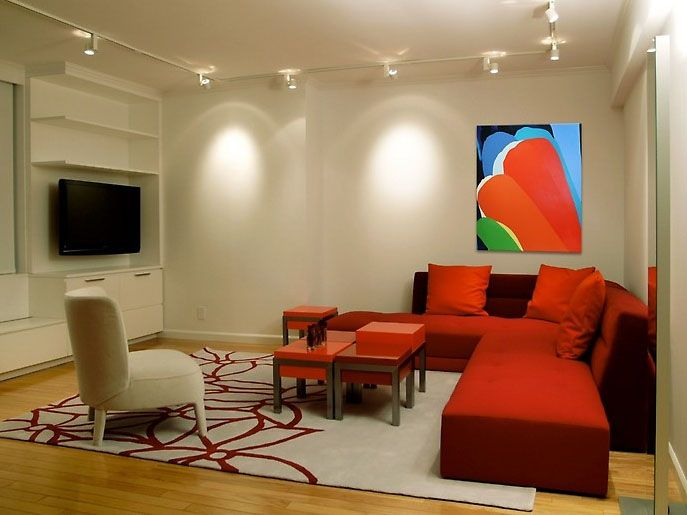 Red Living Room Sofa | Living Room, Red Sofa Living Room With Exotic  Lighting Design ... | For The Home | Pinterest | Red Living Rooms, ... Part 74