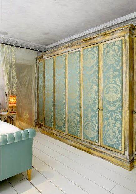 ~ upholstered doors