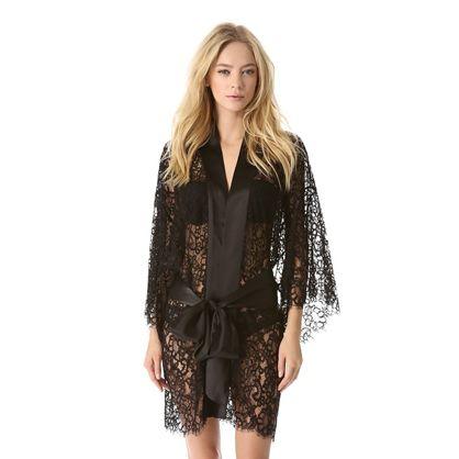 For the Stylista: Kimono Lace Robe