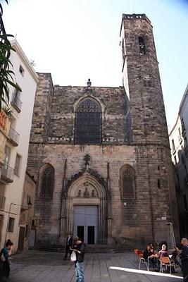 Barcelona, Gothic quarter SANT JUST I PASTOR  Barri Gotic (Gothic quarter) Barcelona, Spain.