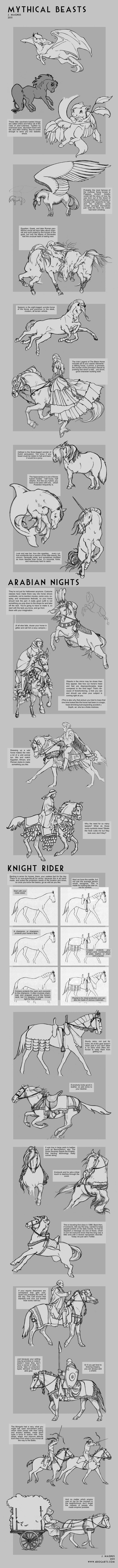 Myth +Costume Horse Tutorial by sketcherjak.deviantart.com on @deviantART