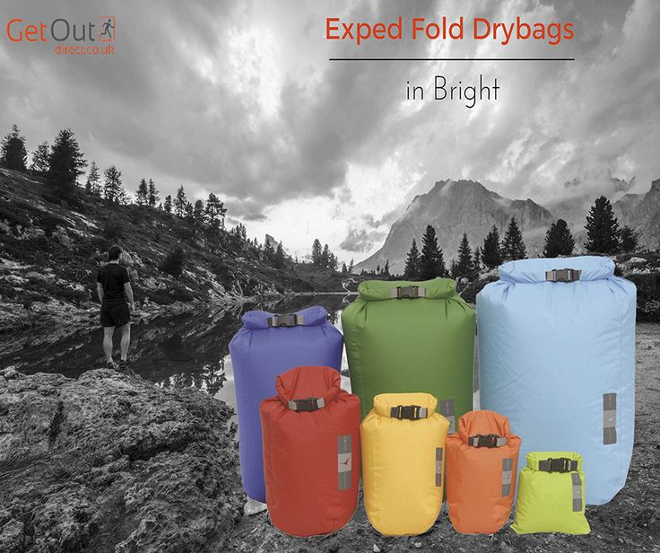 #Exped dry bags from just £7! Keep your stuff dry whilst out in the wild >> http://www.getoutdirect.co.uk/canoe-kayak/equipment/dry-bags-containers/exped-fold-drybags-bright/ #camping #drybags #seizetheday #explorer #outdooradventure #hiking #exploreeverything #natureisthebest #getoutdoors #campingaccessoires